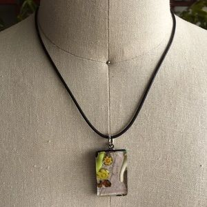 Murano Glass Italian necklace.